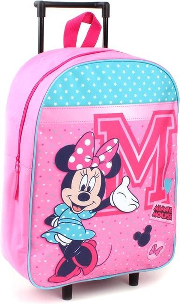 Minnie & Mickey Mouse Trolley koffers Trolley Minnie Mouse Live in Style