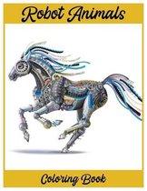 Robot Animal Coloring Book
