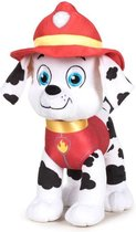 Pluche Paw Patrol knuffel Marshall - Classic New Style - 19 cm - Cartoon knuffels - Speelgoed voor kinderen