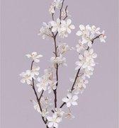 Witteappelbloesem tak 84 cm  - kunstbloemen