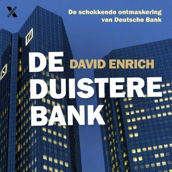 Boek cover De duistere bank van David Enrich (Onbekend)