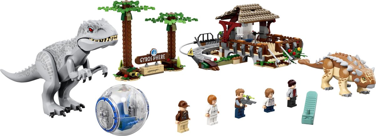 LEGO Jurassic Park Indominus Rex vs. Ankylosaurus -75941