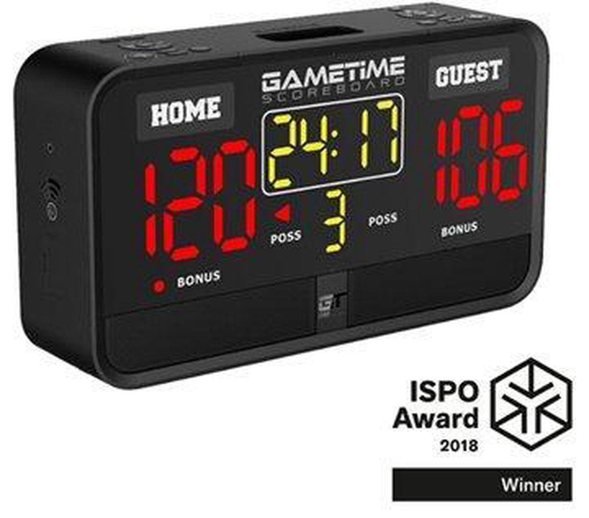 Gametimer scorebord draagbaar - Scorebord - Voor indoor en outdoor - Audio player