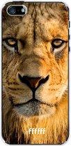 iPhone SE (2020) Hoesje Transparant TPU Case - Leo #ffffff