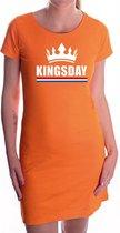 Kingsday jurkje oranje voor dames - Koningsdag - supporters kleding / oranje jurkjes S