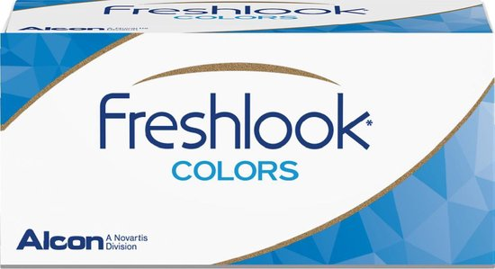 -0,50 - FreshLook® COLORS Hazel - 2 pack - Maandlenzen - Kleurlenzen - Hazel