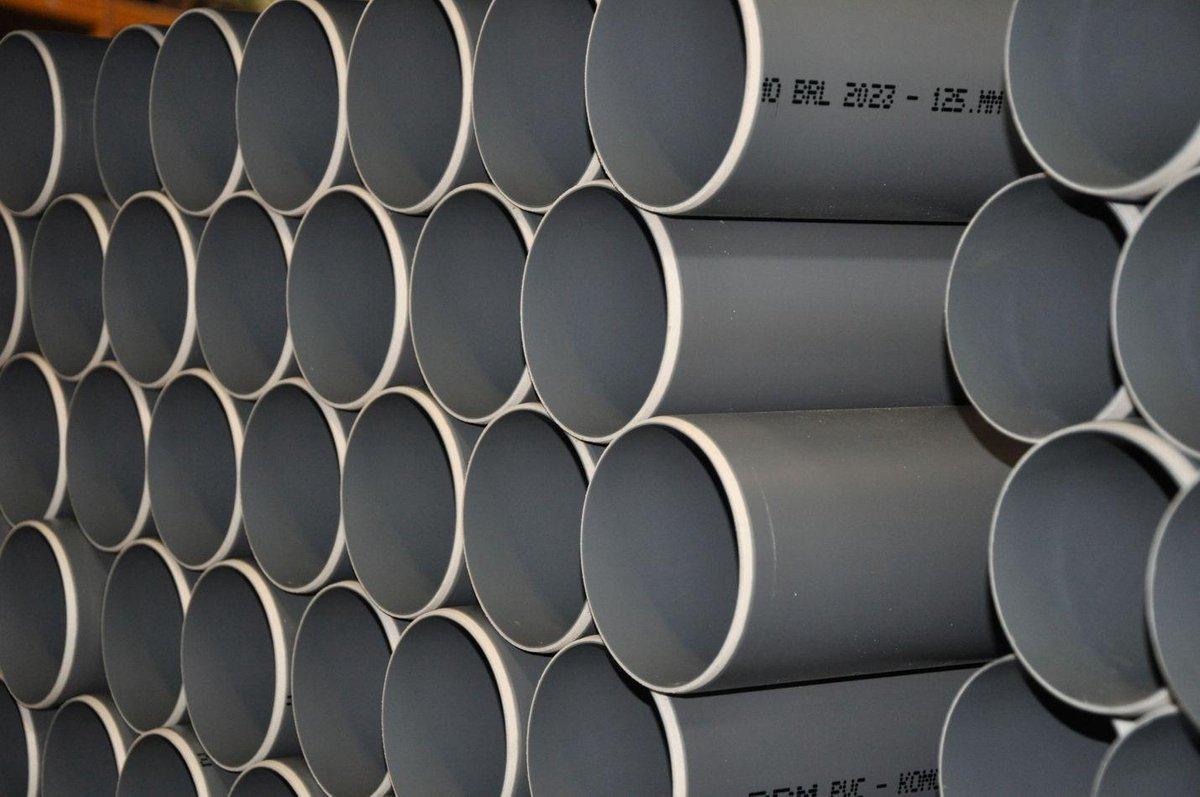 Sub lengtes à 4 mtr PVC buis dikw.komo kl.41 sn4 40x3