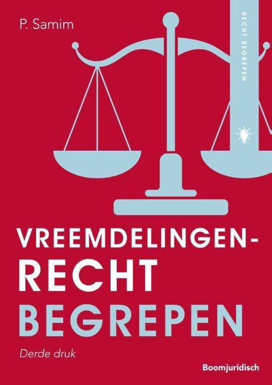 Boek cover Recht begrepen  -   Vreemdelingenrecht begrepen van Parviz Samim (Paperback)