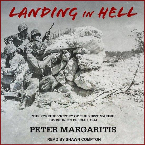 Boek cover Landing in Hell van Peter Margaritis (Onbekend)