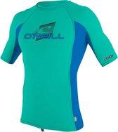 O'Neill - UV-shirt voor kinderen met korte mouwen - Premium Rash - Baltisch groen - maat 134-140cm