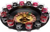 Lifetime Games drankspel roulette - 20-delig - met shotglaasjes