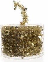 Kerstslinger - 700 cm - Goud - Met sterren