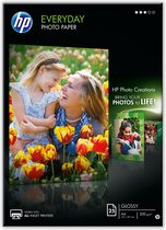 Afbeelding van HP Everyday Photo Paper - Glanzend - A4  - 200 g/m² - 25 vellen