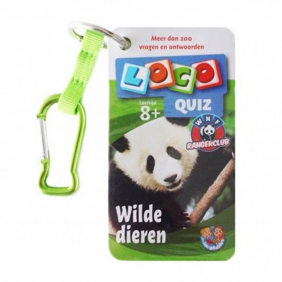 Loco quiz wilde dieren(WNF) leeftijd 8+ - none |