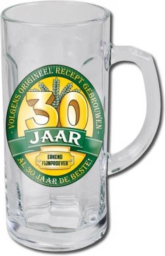 Bierglas - Bierpul - 30 Jaar