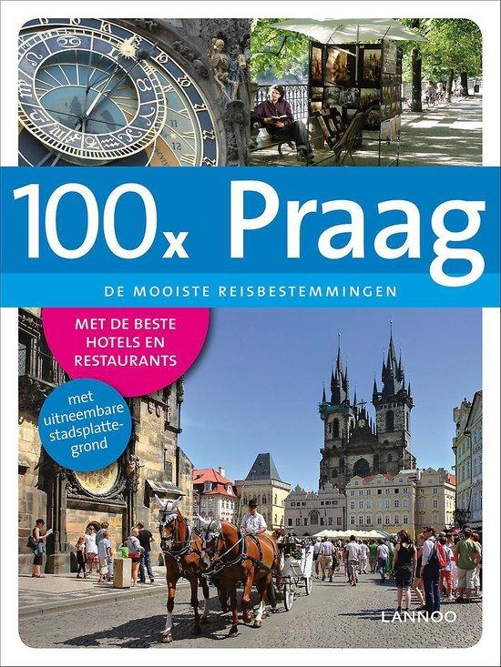 Cover van het boek '100 x Praag' van Chris Rachel Spatz