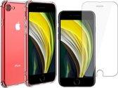 iPhone SE 2020 Hoesje - iPhone SE 2020 Screenprotector - iPhone SE 2020 Hoesje en iPhone SE 2020 Screenprotector - Hoesje iPhone SE 2020 - Screenprotector iPhone SE 2020 -  Glas