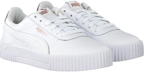 bol.com | Puma Dames Lage sneakers Carina - Wit - Maat 40+
