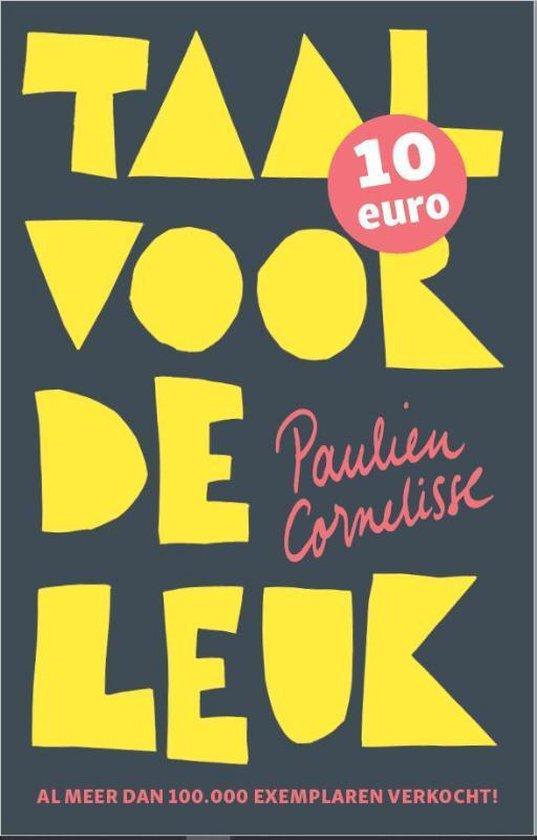 Boek cover Taal voor de leuk van Paulien Cornelisse (Paperback)