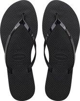 Havaianas You Metallic Dames Slippers - Black - Maat 39/40