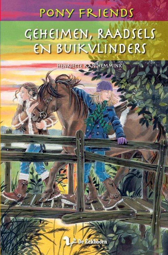 Pony Friends 12 - Geheimen, raadsels en buikvlinders - H. Kan Hemmink |