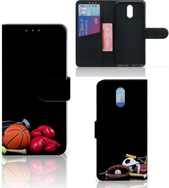 Nokia 2.3 Wallet Case met Pasjes Sports