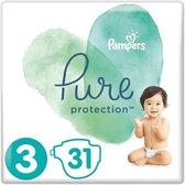 Pampers Luiers Pure Protection Maat 3 - 31 Stuks