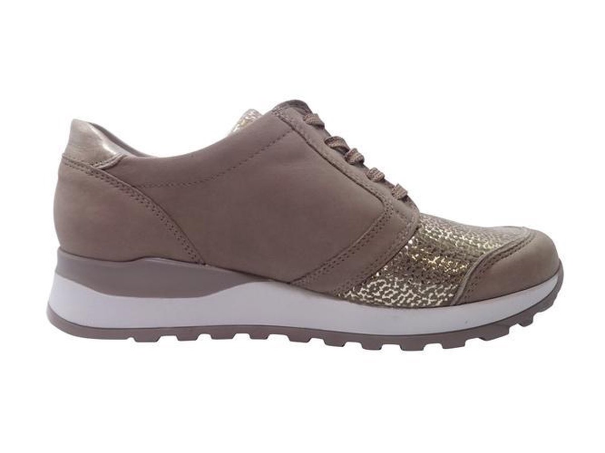 Waldlaufer Sneakers H64007 302 921 Nubuck Stretch Beige Lichtgoud 38.5 ISThr