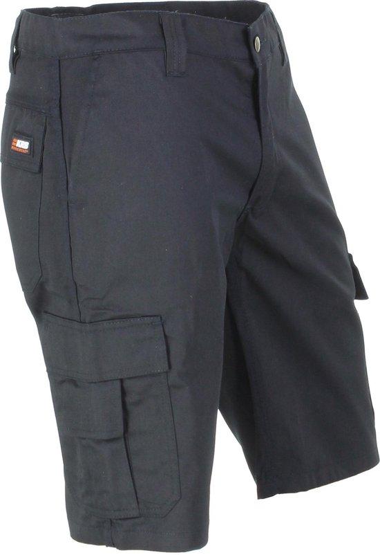 KRB Workwear® SVEN Korte Werkbroek ZwartNL:50 BE:44