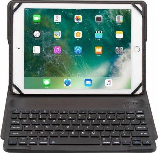 Zwart Magnetically DetachableWireless Bluetooth Keyboard hoesje voor Huawei MediaPad T3 10 (9.6 inch)