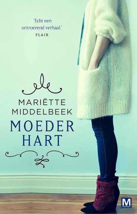Boek cover Moederhart / druk Heruitgave van Mariette Middelbeek (Paperback)