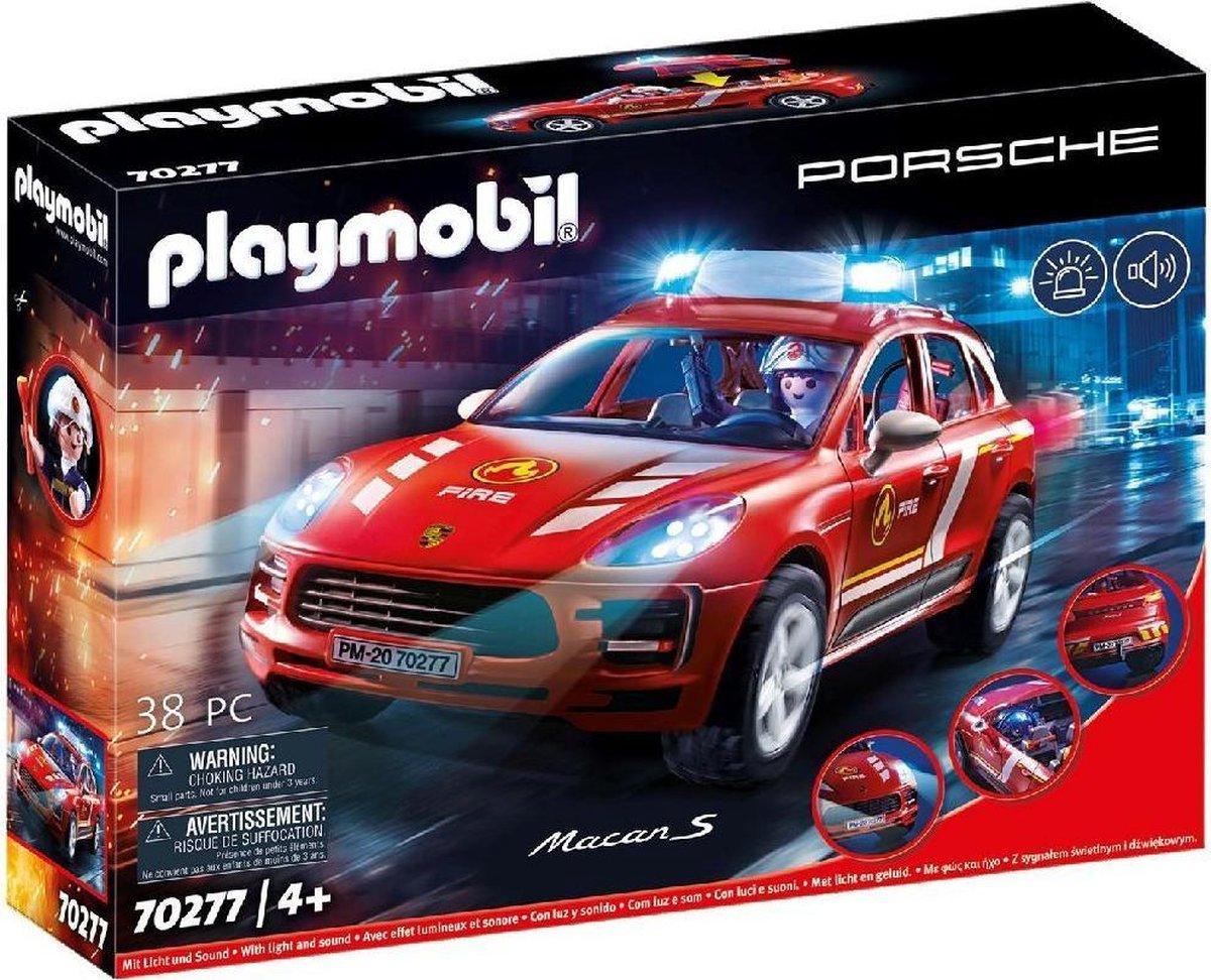 PLAYMOBIL Porsche Macan S Brandweer - 70277