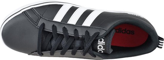 adidas Pace VS  Sneakers - Maat 43 1/3 - Unisex - zwart/wit/rood - adidas