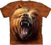 The Mountain KIDS T-shirt Grizzly Growl Unisex T-shirt XL