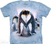 The Mountain KIDS T-shirt Penguin Heart Unisex T-shirt XL