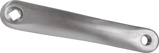 M-wave Crank Aluminium 170mm Links Zilver