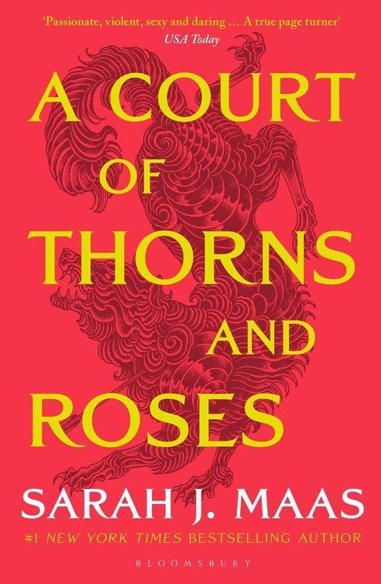 Boek cover A Court of Thorns and Roses van Sarah J. Maas (Paperback)
