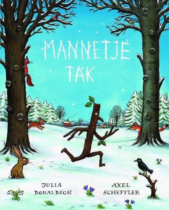 Cover van het boek 'Mannetje tak'