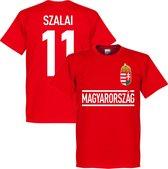 Hongarije Szalai 11 Team T-Shirt - L