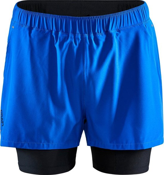 Craft Adv Essence 2-In-1 Shorts M Sportbroek Heren - Burst