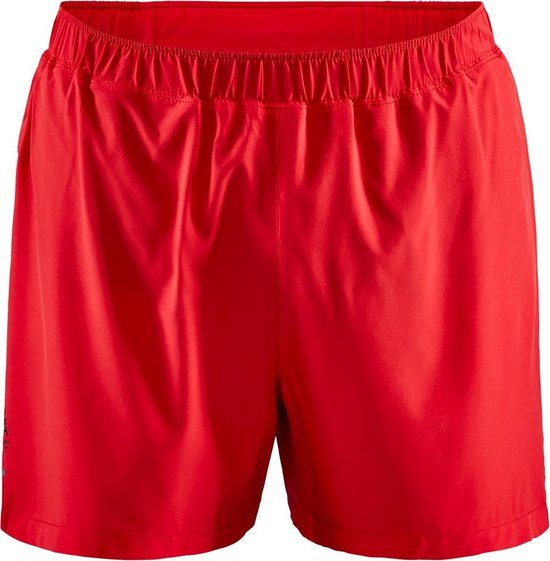 Craft Adv Essence 5'' Str Short M Sportbroek Heren - Bright Red