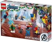 LEGO Marvel De Avengers adventkalender - 76196 - Rood