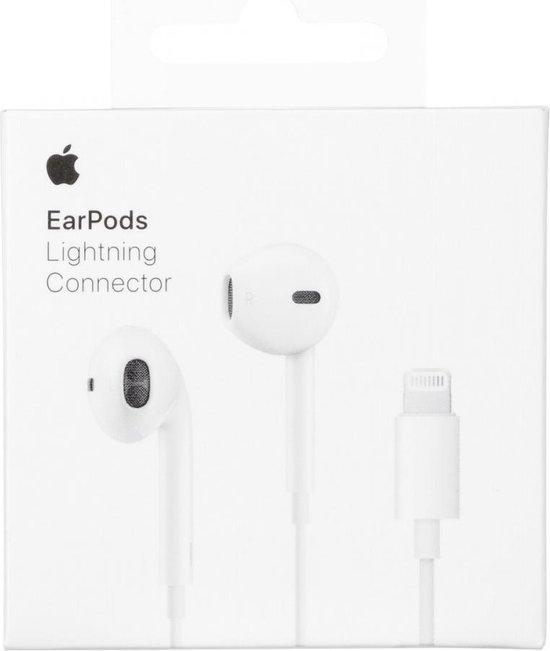 EarPods - met lightning connector - wit - Apple