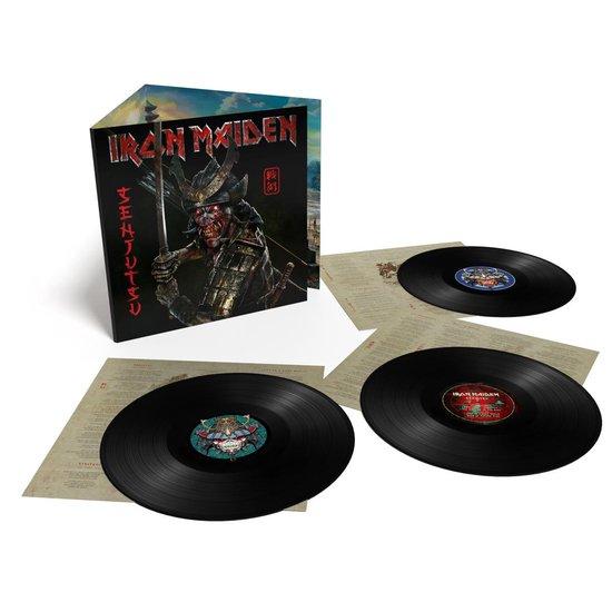 CD cover van Senjutsu (3LP) van Iron Maiden
