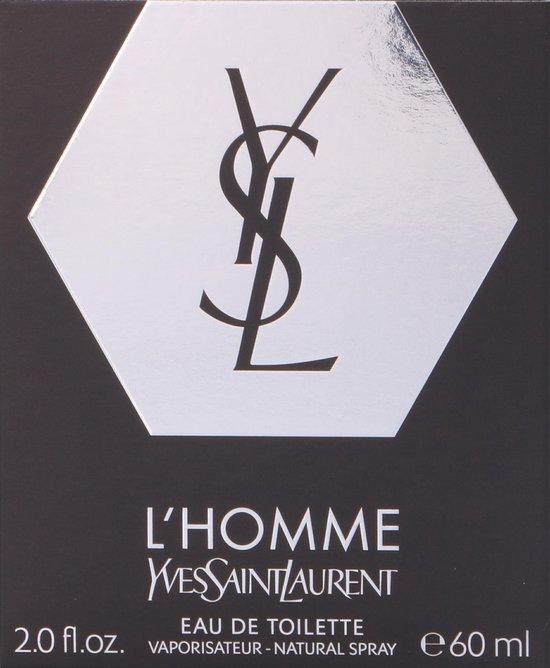 Yves Saint Laurent L'Homme 60 ml - Eau de Toilette - Herenparfum