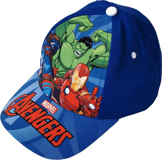 Marvel Pet Avengers Junior Katoen Blauw Maat 51/54