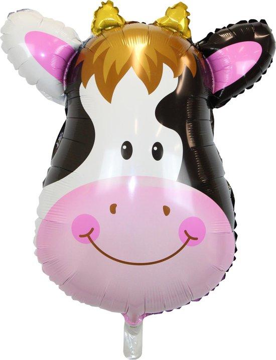Jungle Ballon Verjaardag Versiering Koe Helium Ballonnen Feest Versiering Dieren Safari Decoratie – 90 Cm - 1 Stuk