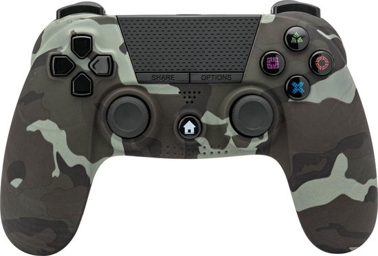Under control PS4 Controller Draadloos via Bluetooth – Camouflage