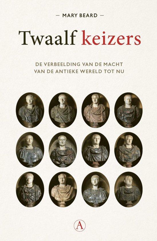 Boek cover Twaalf keizers van Mary Beard (Paperback)