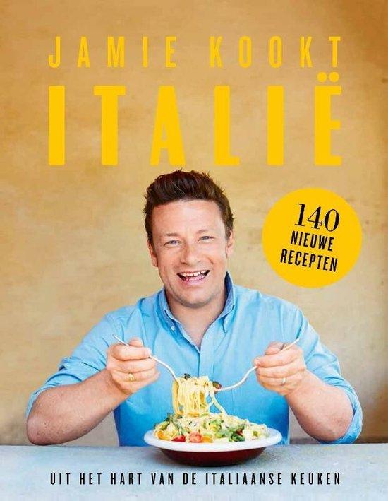 Boek cover Jamie kookt Italië van Jamie Oliver (Hardcover)